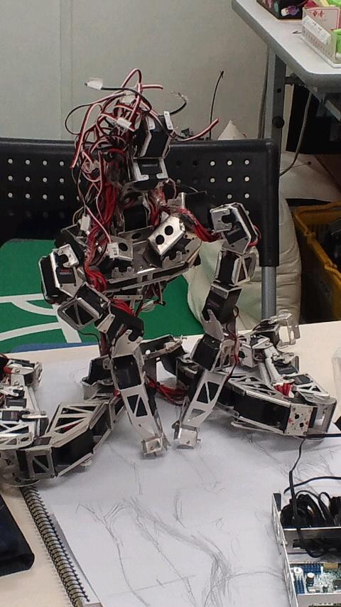8月のロボット練習会